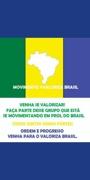 Movimento #Valoriza Brasil