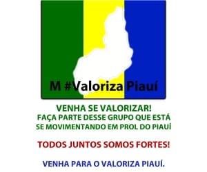 Movimento #Valoriza Piauí